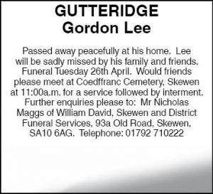Mr Godon Gutteridge Website