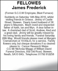 Mr James Fellowes Amended